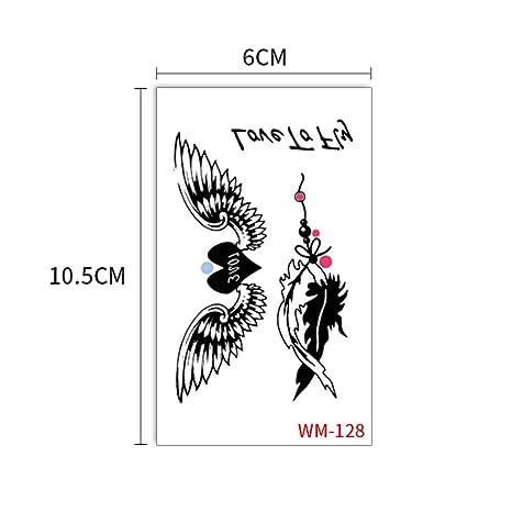 zgmtj Etiqueta engomada del Tatuaje de Moda Fresca WM128 ...