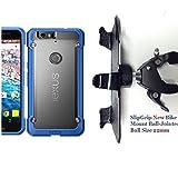 "SlipGrip 1.5"" Bike Holder For Huawei Nexus 6P Using SupCase Unicorn Beetle Hybrid Case"