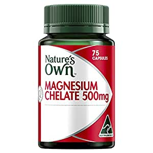 Nature's Own Magnesium Chelate 500mg - 75 Capsules