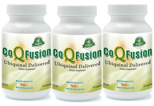 CoQFusion(tm) Ubiquinol (3-pack) by Rag Tag Research Geeks