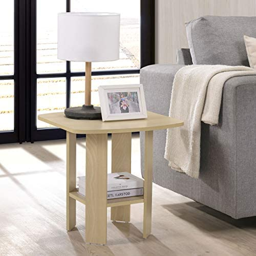 Fortress End Table Beech