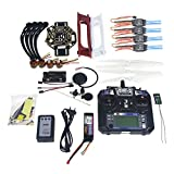 QWinOut DIY 450 Airframe 2.4G 6CH RC Quadcopter ARF Combo Full Set Drone with GPS APM2.8 Flight Control (All Parts included for Ready to Fly, Unassembly)