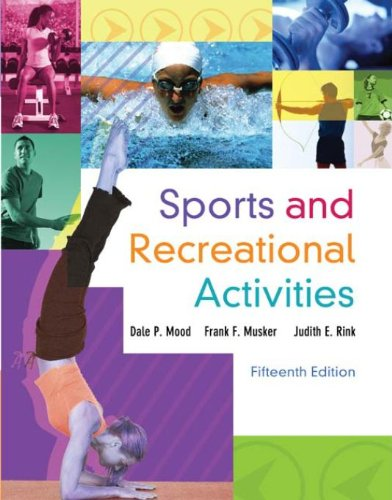 Sports and Recreational Activities Pdf