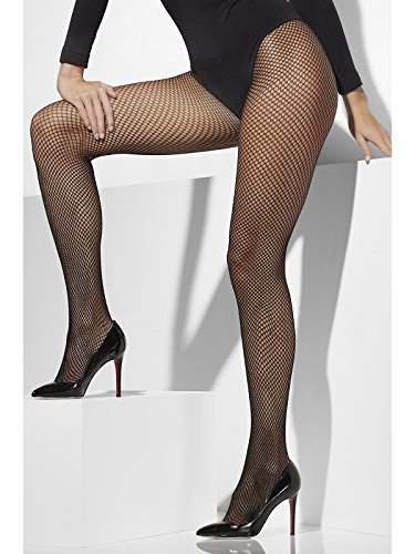 Fever Women's Fishnet Tights, Black, One Size, 5020570427941 ()