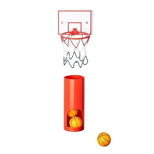 Balvi Canasta Baloncesto Private con 3 Pelotas Juego de ...