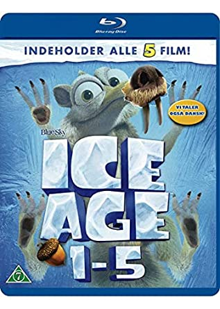 Amazon Com Ice Age 1 5 5 Disc Set Ice Age Ice Age The Meltdown Ice Age Dawn Of The Dinosaurs Ice Age Continental Drift Ice Age Collision Course