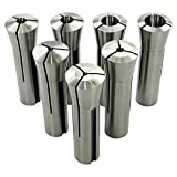 Collet Set, R8, Set of 7