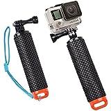 O RLY Waterproof Floating Hand Tripod mount Handle Grip for GoPro Hero 2 3 4 5 6 SJCAM CamPark/AKASO/APEMAN Sport Action Camera Mount Accessories