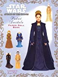 Padme Amidala Paper Doll Book (Star Wars, Episode II: Attack of the Clones)