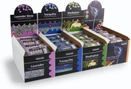 Piedras para dormir con fragancia a lavanda, ideal para usar ...