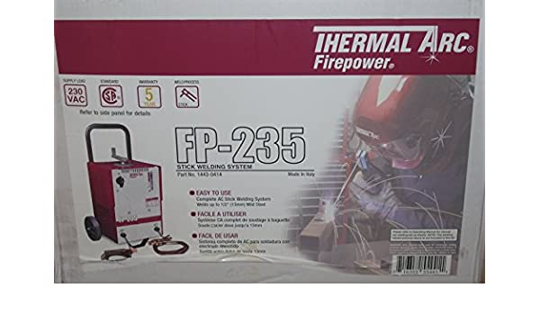 Thermal Arc Firepower 1443-0414 AC Stick Welder FP-235 Arc Welder 230VAC - - Amazon.com