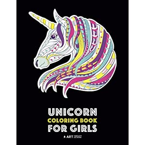 Unicorn Coloring Book For Girls: Advanced Coloring Pages for Tweens, Older Kids & Girls, Detailed Zendoodle Animal…