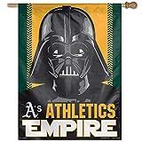 "WinCraft 27"" x 37"" Vertical Star Wars Oakland Athletics House Flag"