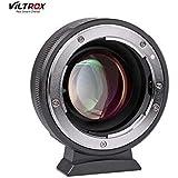 VILTROX NF-M43X スピードブースター 0.71x MF ニコン Nikon AI(G)/AFレンズ→パナソニック GH/GXシリーズ&オリンパス マイクロフォーサーズマウントカメラ マウントアダプター 無限遠調整可能 GH5 GH4 GF9 GX85 GX8 E-M5 E-M10 E-PL3 Pen-F BMPCC BMPCC4Kに対応