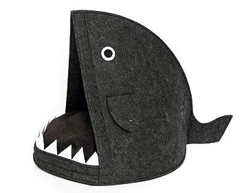 RS Healthcare - Cama para Perro o Gato, diseño de tiburón: Amazon.es: Productos para mascotas