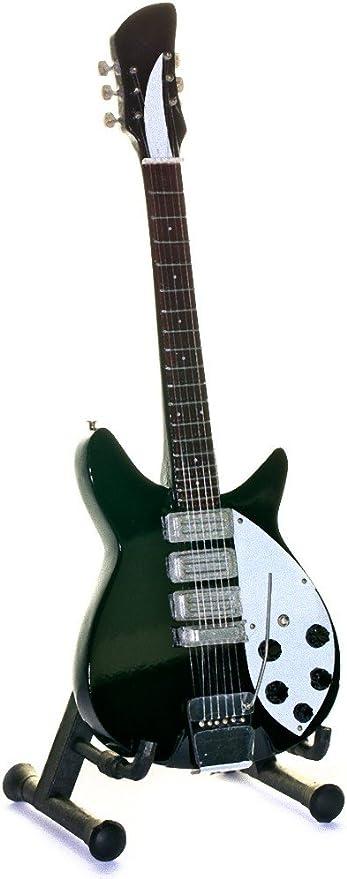 Réplica de guitarra en miniatura - minirregalo para los amantes de ...