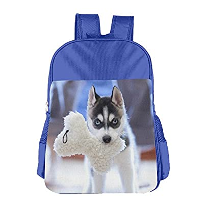 8a7366a3a9 Nishilongteng Personalized Puppy Husky Dog Muzzle Girls And Boys Kid s  Backpacks good