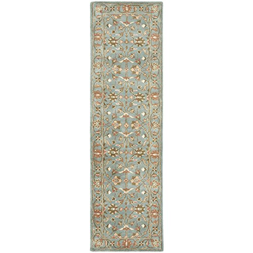 (Safavieh Heritage Collection HG969A Handcrafted Traditional Oriental Blue Wool Runner (2'3