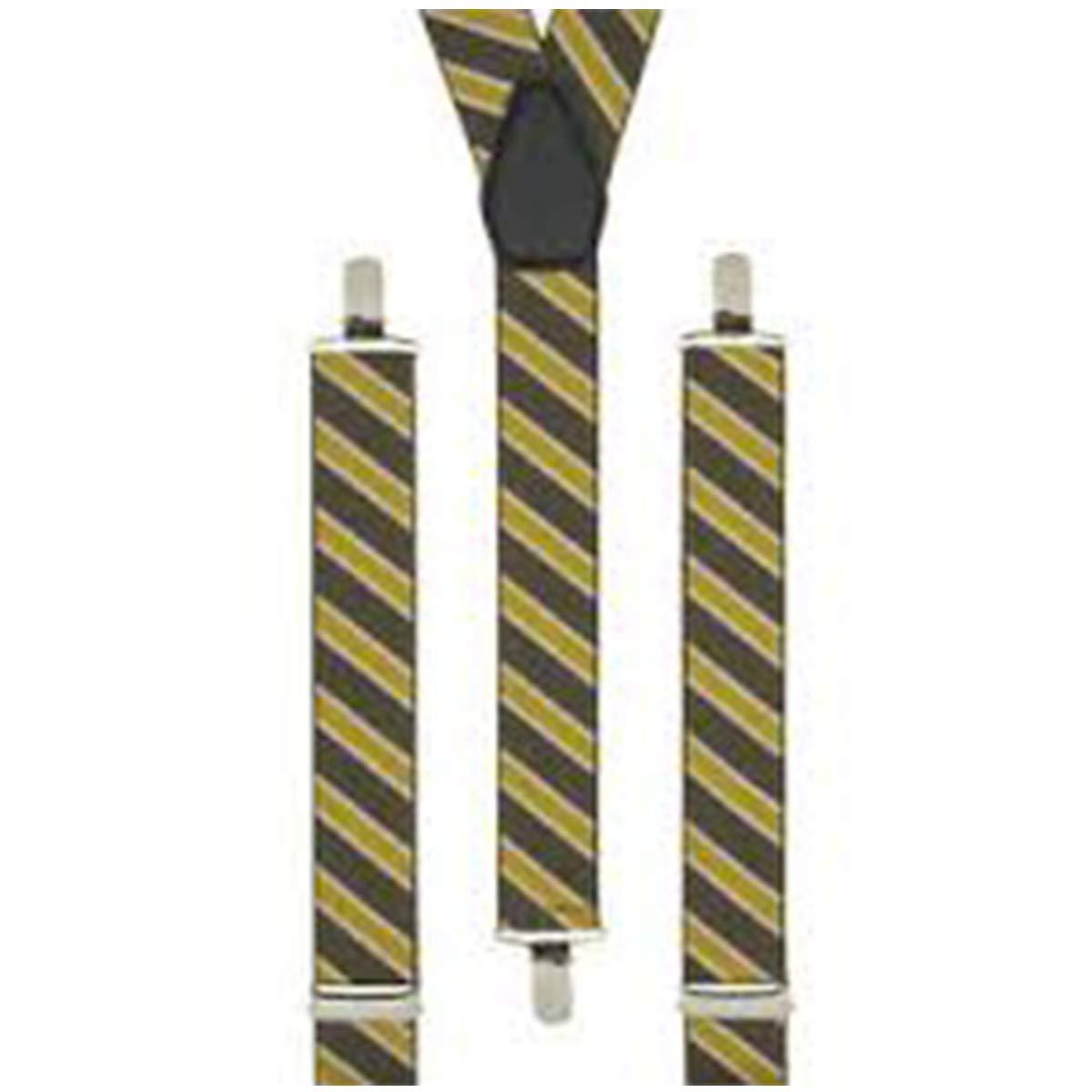 Harry Potter - Tirantes para corbata, diseño de rayas amarillas ...