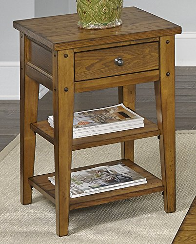 Liberty Furniture 110-OT1021 Lake House Chair Side Table, 18