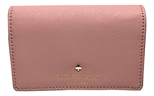 Kate Spade New York Mikas Pond Christine Small Leather Wallet / Color: Pink Bonnet (656) by Kate Spade New York