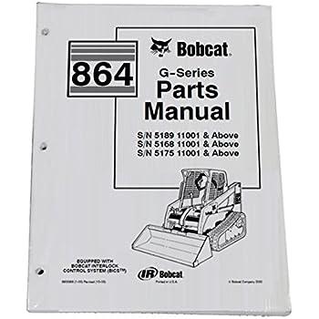 bobcat s130 parts manual on