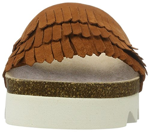 Apple of Eden Shawne 4, Chanclas Mujer Marrón (Brown)