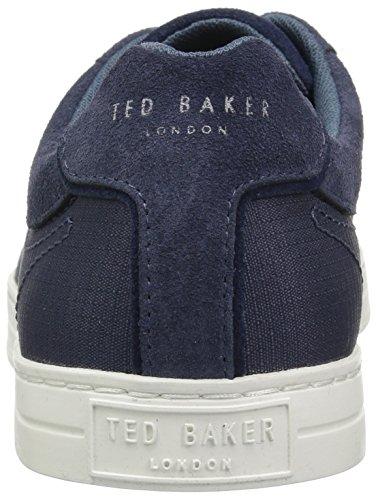 Ted Baker Mens Klemes Sneaker Grigio Scuro