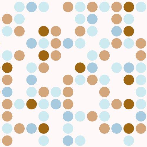 Con-Tact Brand Con-Tact Multi-Purpose Self-Adhesive Shelf Liner Paper 18 x9 Polka Blue