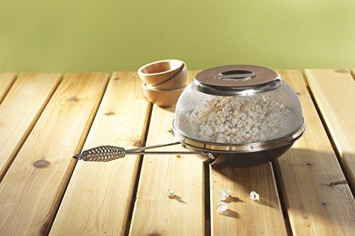 Nordic Ware 365 Indoor/Outdoor Campfire and Stovetop Popcorn Popper