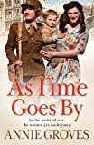 Front cover for the book As Time Goes By by Annie Groves