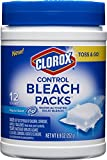 Clorox Control Bleach Packs, Regular, 12 Count