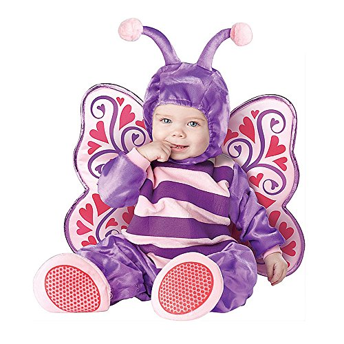 Toddler Baby Girl Infant Butterfly with Wing Halloween Dress up Outfit Costume ()