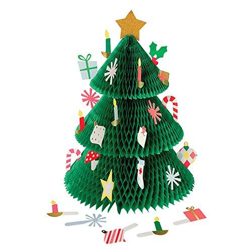 Advent Calendar Ideas for Kids Christmas Calendar Christmas Countdown 3D Christmas Tree by Meri Meri