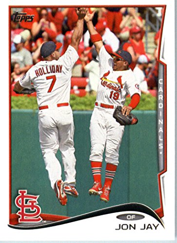 2014 Topps Baseball Card # 538 Jon Jay - St. Louis Cardinals