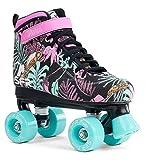 SFR Vision Canvas children's roller skates, disco roller, floral, 32