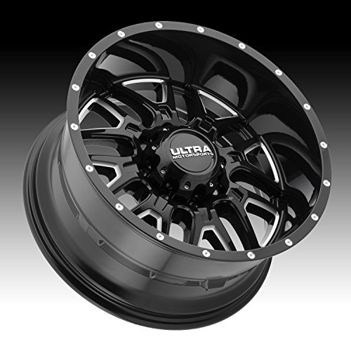 Ultra 203BM Hunter 17x9 6x139.7 +12mm Black/Milled Wheel Rim by Ultra (Image #1)
