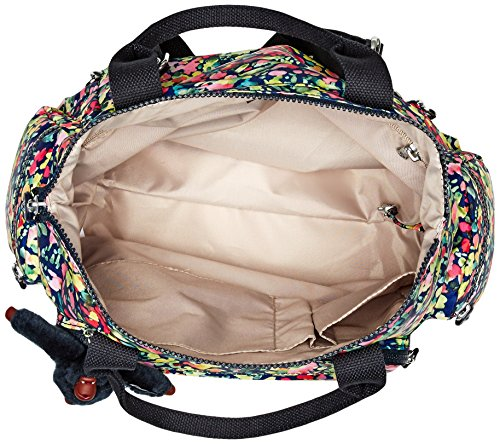 Black Convertible Kipling Bouquet Alvy Handbag 5TwqPOx1