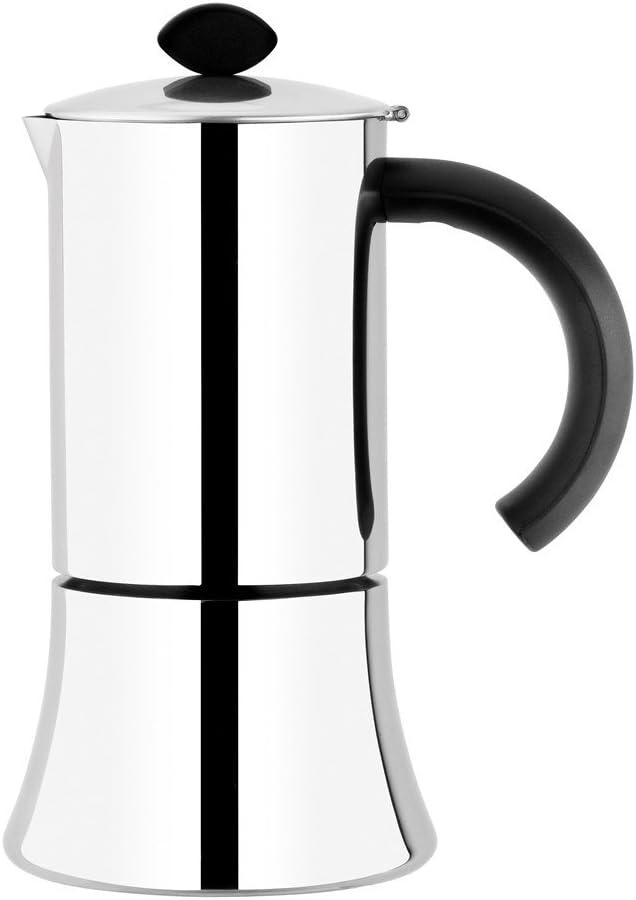 BRA Jamaica - Cafetera, 6 tazas, acero inoxidable 18/10: Amazon.es ...