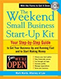 img - for The Weekend Small Business Start-Up Kit book / textbook / text book