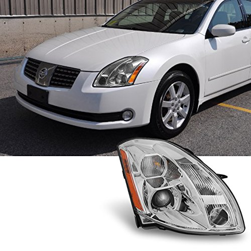2004 2005 2006 Maxima Halogen Type Passenger RH Right Side Projector Headlight Headlamp (Nissan Maxima Projector Headlights)