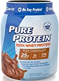 Pure Protein® 100% Whey Powder Rich Chocolate, 1.75 Review and Comparison