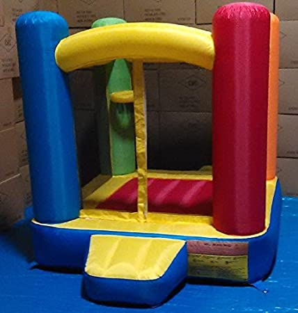 BALLS INCLUDED My Bouncer Little Castle Bounce House w// Built-in Ball Pit and 500 pcs 3.1 Crush-Proof Home Grade Balls