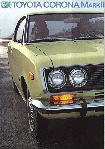 1970 Toyota Corona Mark II 1900 sales brochure: Sedan Hardtop Wagon