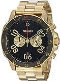 Nixon Men's 'Ranger Chrono' Quartz Stainless Steel Casual Watch, Color:Gold-Toned (Model: A549513-00)