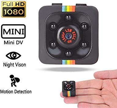 NFITtech Mini Hidden Camera HD 720P/1080P Spy Nanny Cam Body Camera Video Recorder Homme Surveillance with Night Vision Motion Detection...