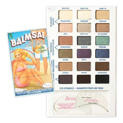 TheBalm Balmsai Eyeshadow and Brow Stencil Palette