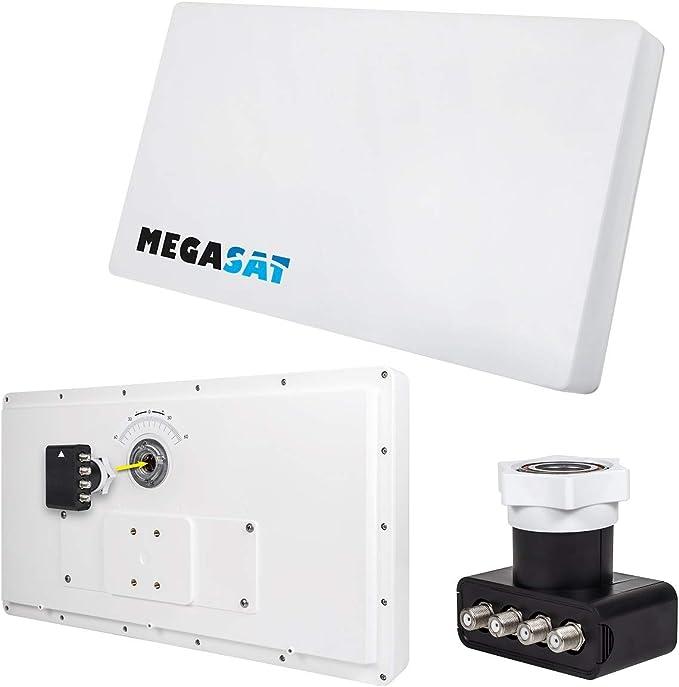 Megasat Antena Plana 200212 D4 Profi-Line – Color Blanco ...