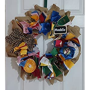 Horse Show Ribbons Memories Keepsake Wreath 66