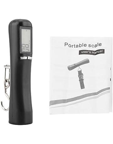 Báscula para equipaje - Báscula electrónica, Escala digital para maletas para maletas, Báscula portátil